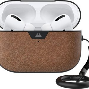 Mous Leather Protective Case voor AirPods Pro - Bruin
