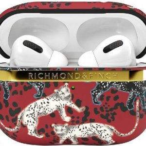 Richmond & Finch Samba Red Leopard Airpod Pro Cas for Universal red