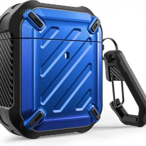 SUPCASE Unicorn Beetle Rugged Armor Apple AirPods 1 / Airpods 2 Case - Blauw