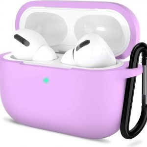 Shieldcase Airpods Pro silicone case - lichtpaars
