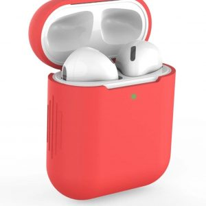 Siliconen Case Voor Airpods - Rood - Rood / Red