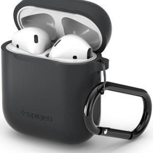 Spigen Silicone Fit for AirPods Charcoal