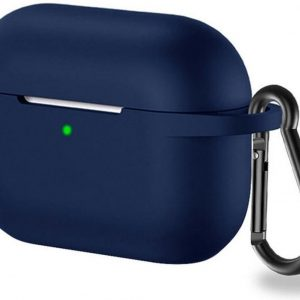 Teleplus Apple Airpods Pro Hooked Silicone Case Navy Blue hoesje
