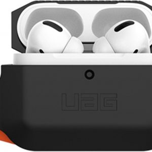 UAG Rugged Armor Softcase voor AirPods Pro - Zwart / Oranje