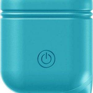 Xccess Shockproof Silicone Case with Hook for Apple Airpods Blue