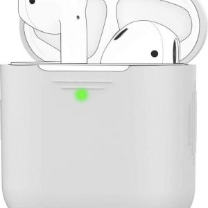 YPCd® Airpods Case - Siliconen - Wit