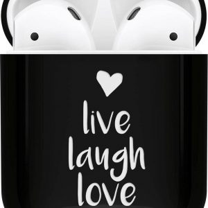 iMoshion Design Hardcover Case voor de AirPods - Live Laugh Love